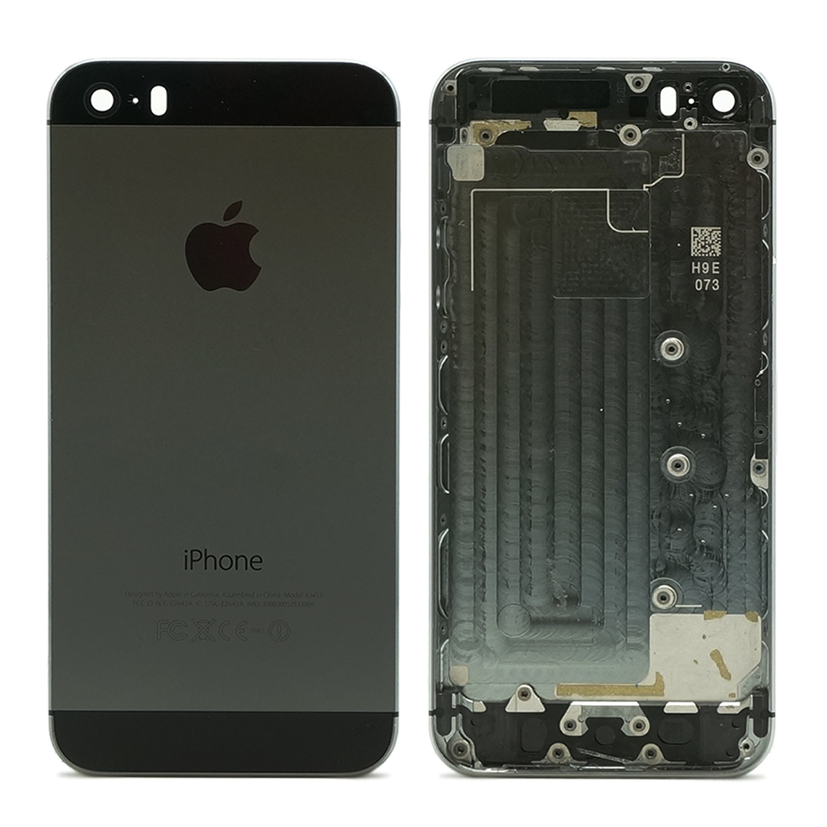 refurbished original apple iphone 5s black silver gold back housing mid frame ebay. Black Bedroom Furniture Sets. Home Design Ideas