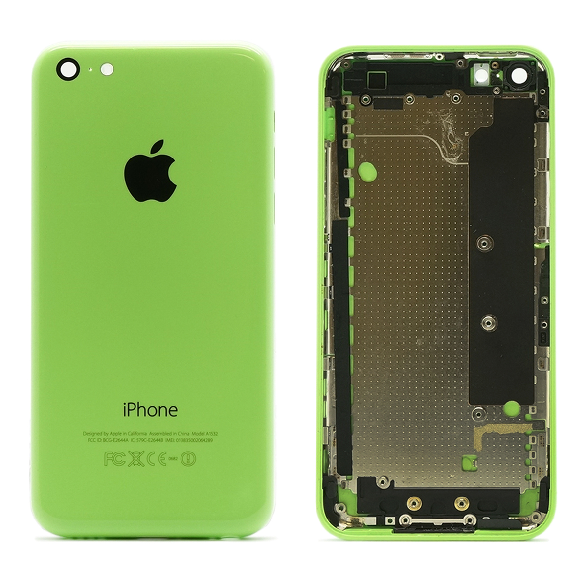mint refurbished original apple iphone 5c white blue green back housing ebay. Black Bedroom Furniture Sets. Home Design Ideas