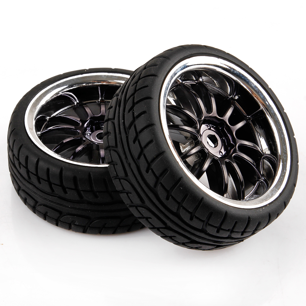 1 10 Rc Car Wheels : Spoke rc car tires wheels for hsp hpi scale on