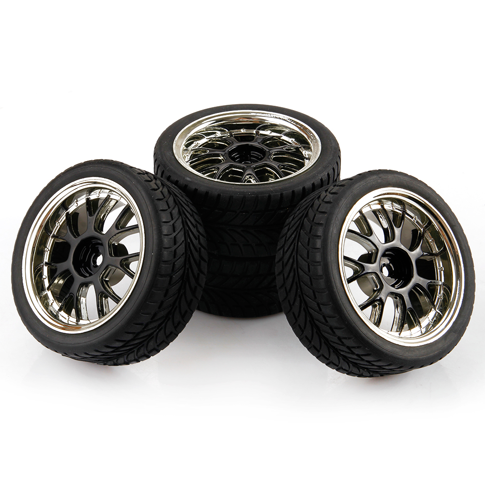 1 10 Rc Car Wheels : Scale rc tires wheels on road car for hsp hpi