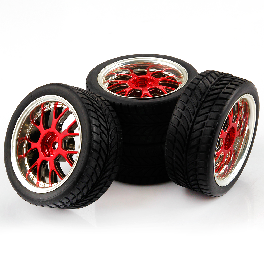 1 10 Rc Car Wheels : On road car rc tires rims scale for himoto