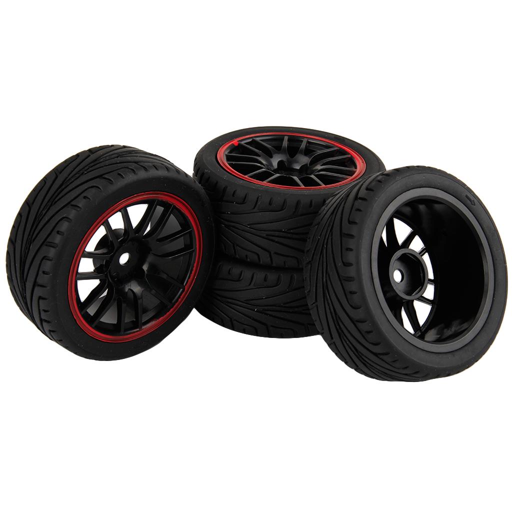 1 10 Rc Car Wheels : Pcs rc wheels rims hpi on road tires