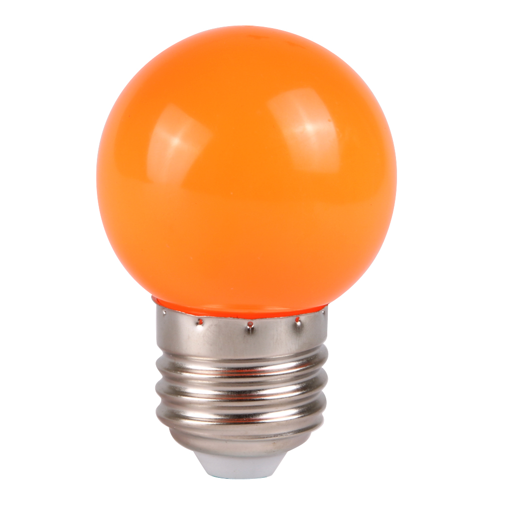 Energy Saving Led Screw Light Bulb Lamp Ac 220v Colorful E27 3w