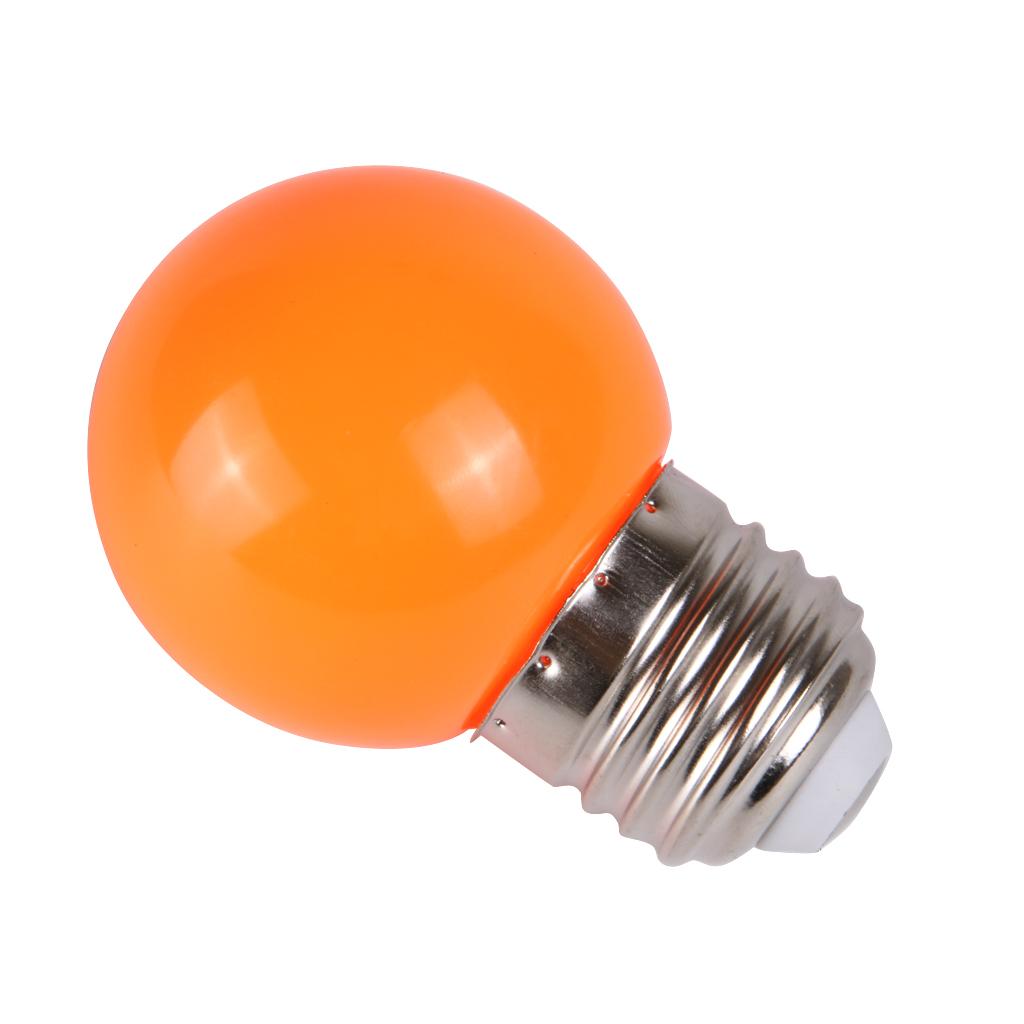 Energy Saving Led Screw Light Bulb Lamp Ac 220v Colorful E27 3w