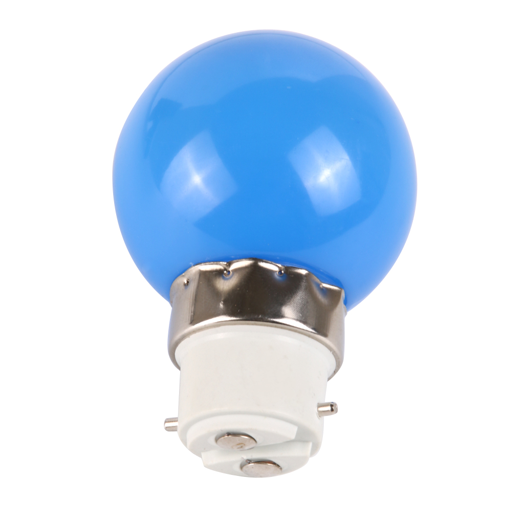 Ac 220v Led Light Bulb Lamp Energy Saving B22 3w Colorful Ebay