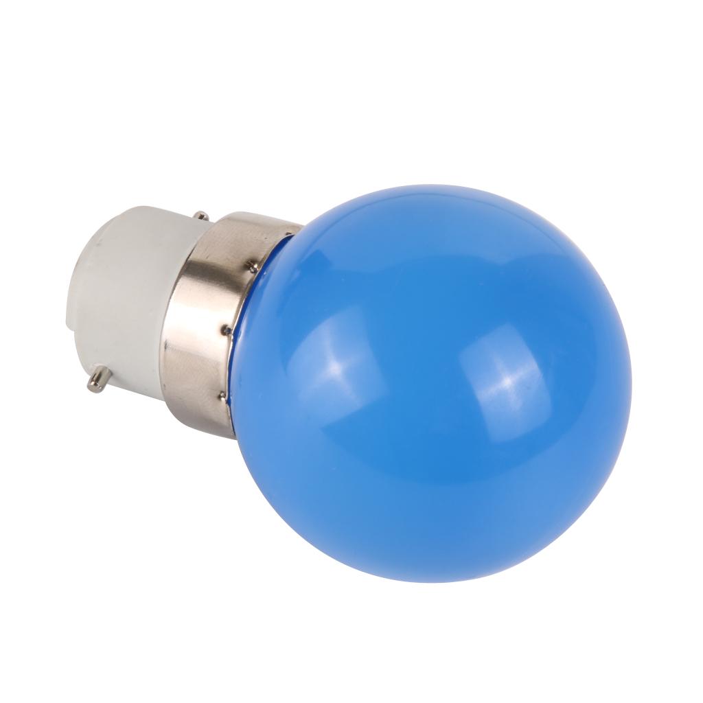 Ac 220v Led Light Bulb Lamp Energy Saving B22 3w Colorful Ebay