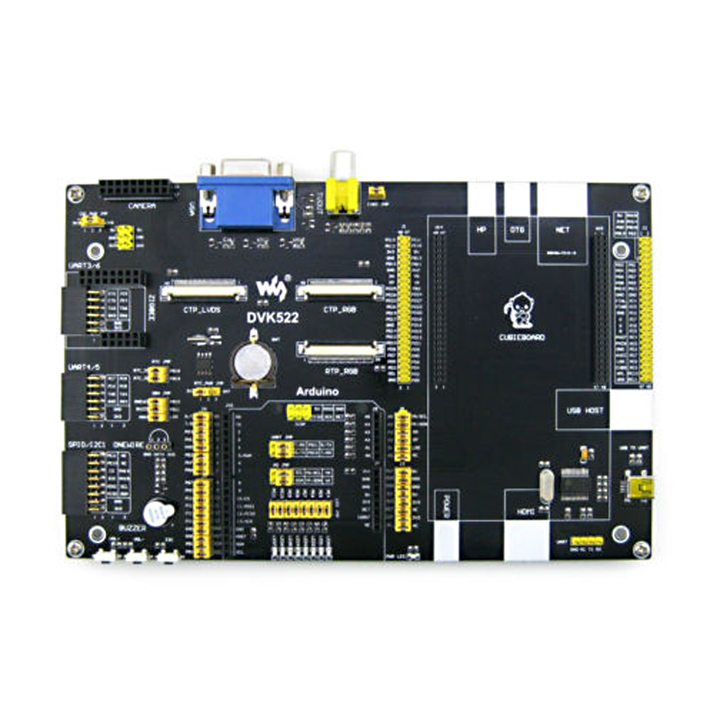 A arm cortex dual core mini pc dvk arduino board