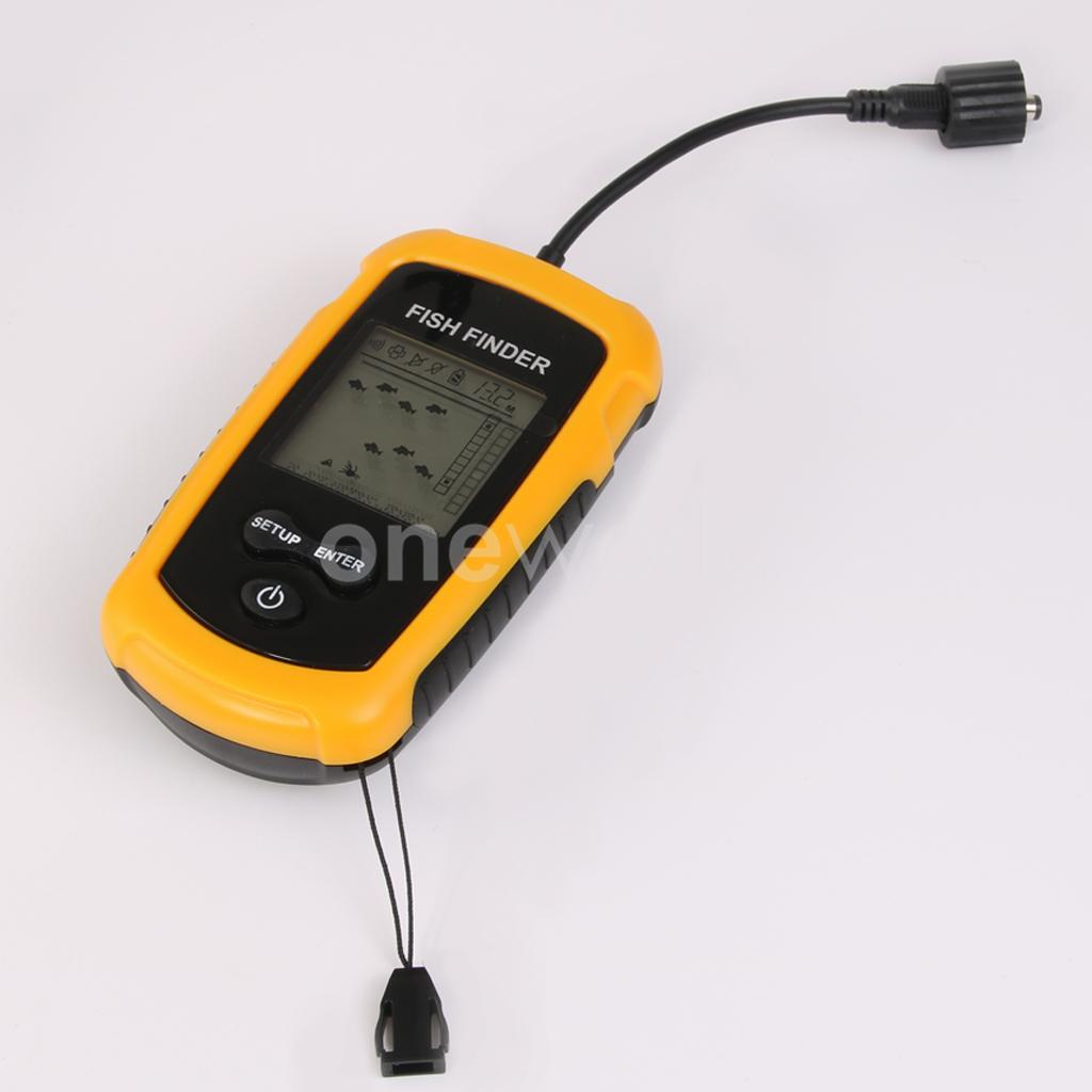 Fishing capturing transducer sonar sensor fish finder for Fish finder transducer