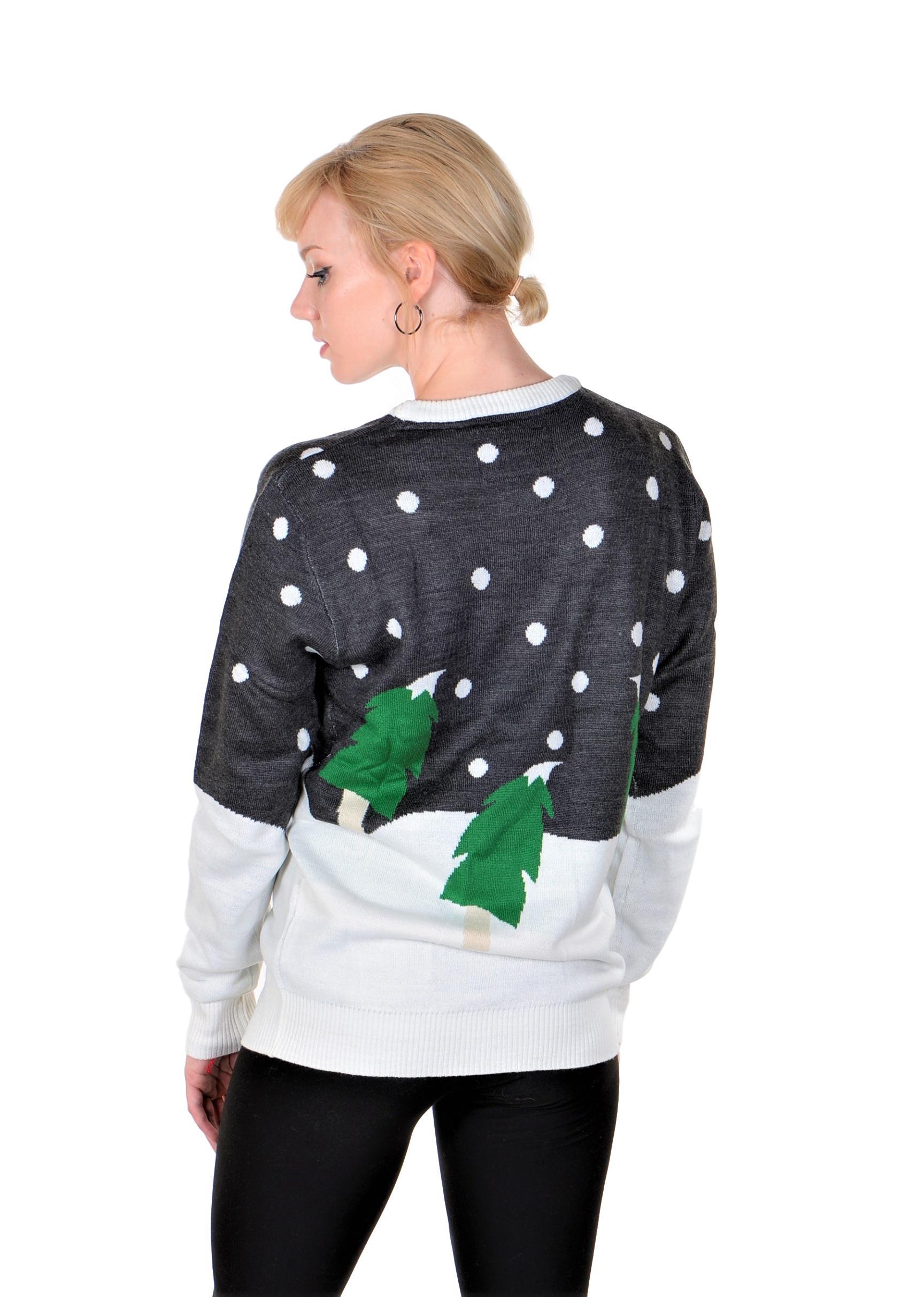 RWB Slim Fit Men/'s Ugly Christmas Sweater Santa Pullover
