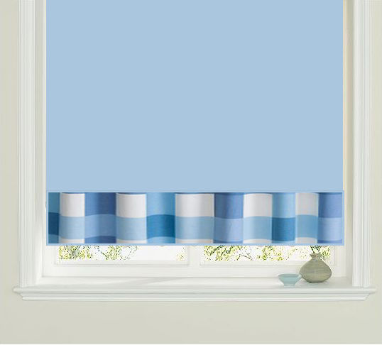 CHECKERS Clearance Kitchen Roller Blinds 2ft