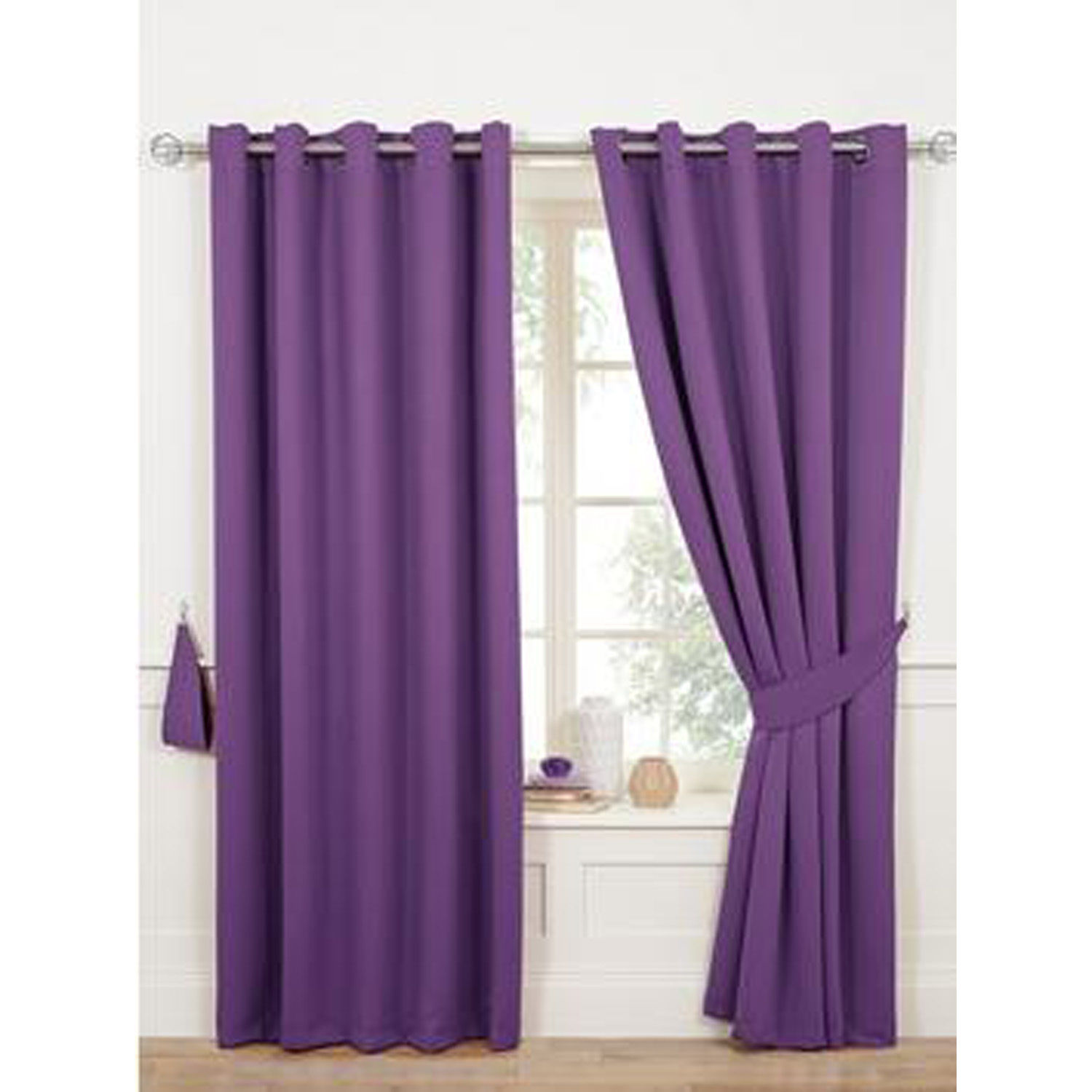 Woven Blackout Ring Top Curtains Door Curtains Insulate Block Out The Light Ebay