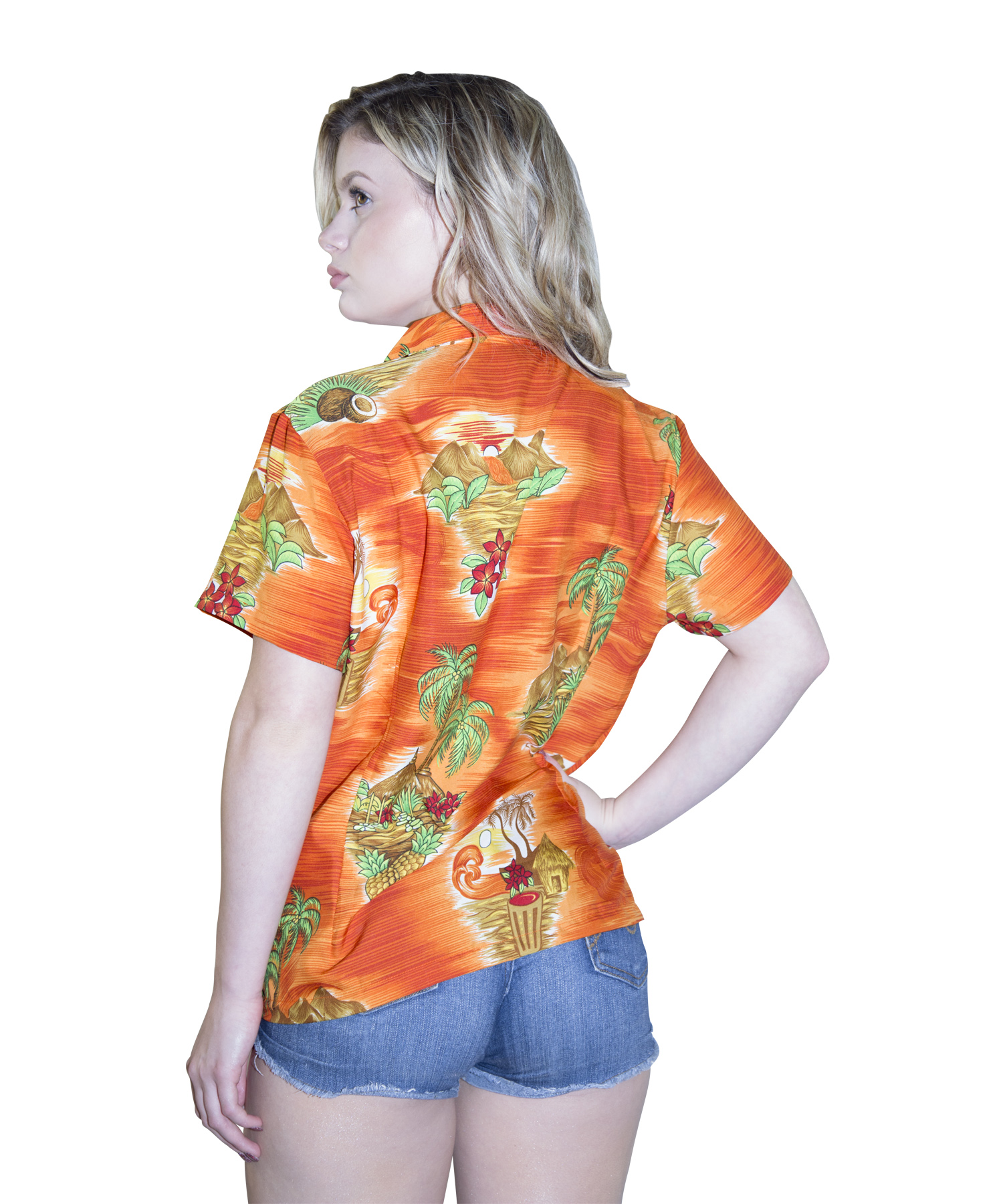 Women'S Blouses Hawaiian 60