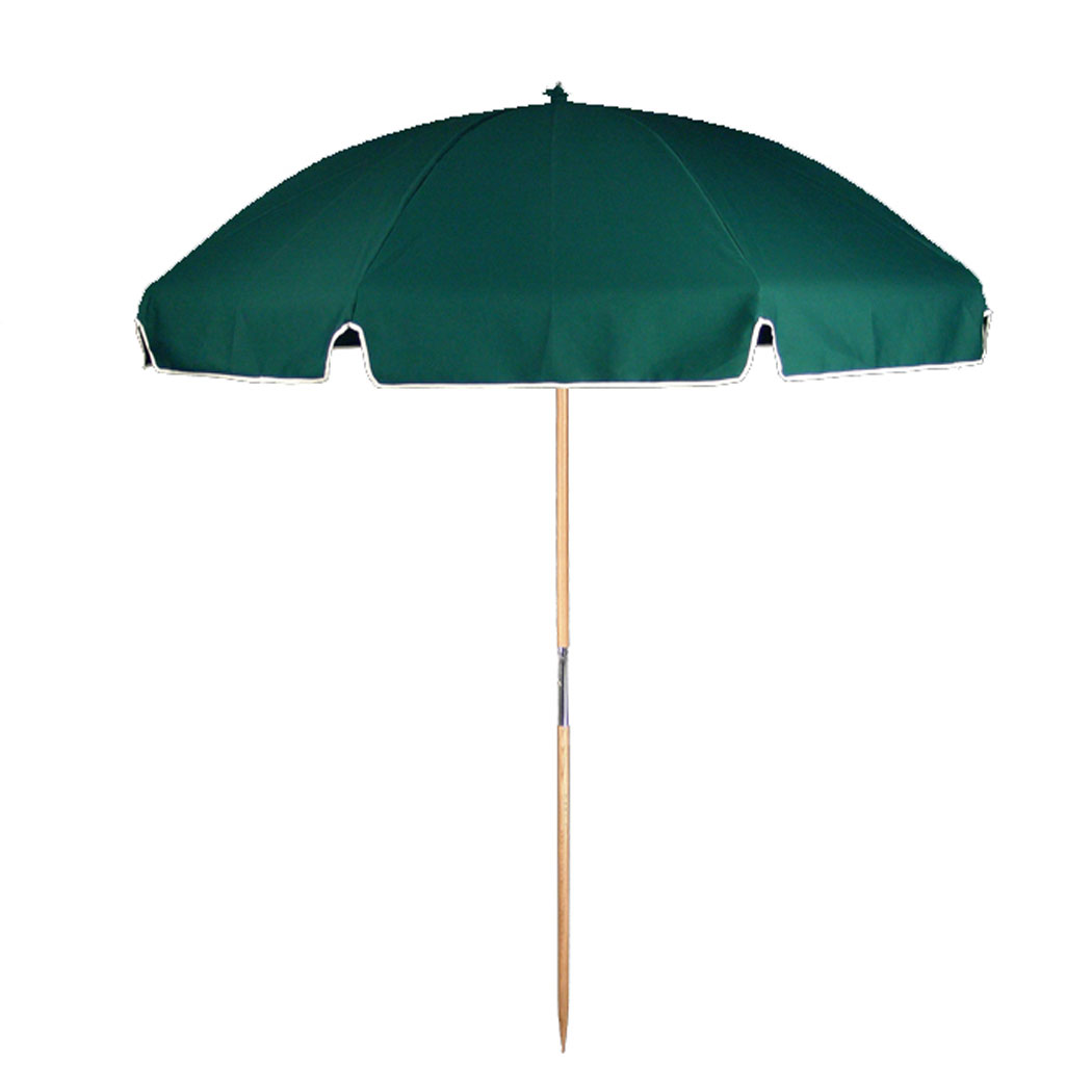 7 5 Ft Steel Commercial Grade Beach Umbrella Ash Wood