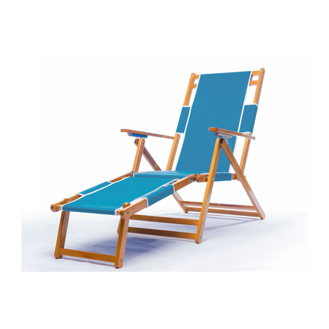 Heavy duty commercial grade oak wood beach chair chaise for Chaise commercial