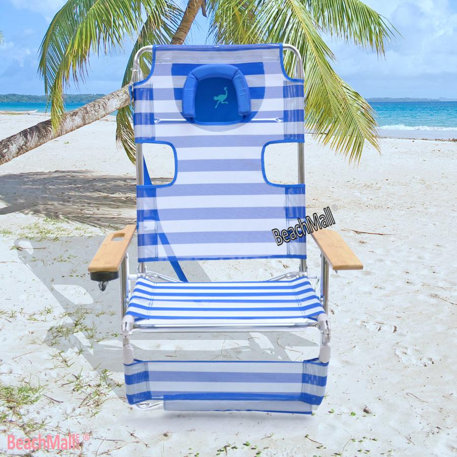 Ostrich 3 N 1 Beach Chair / Lounger / Chaise with Side ...