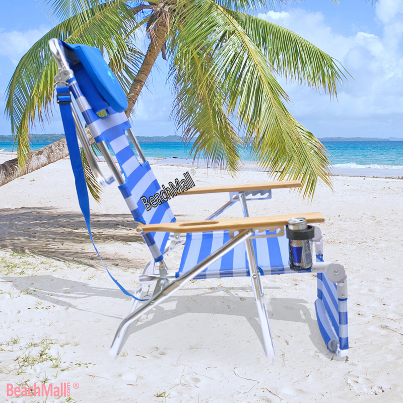 ostrich 3 n 1 beach chair    lounger    chaise with side tray