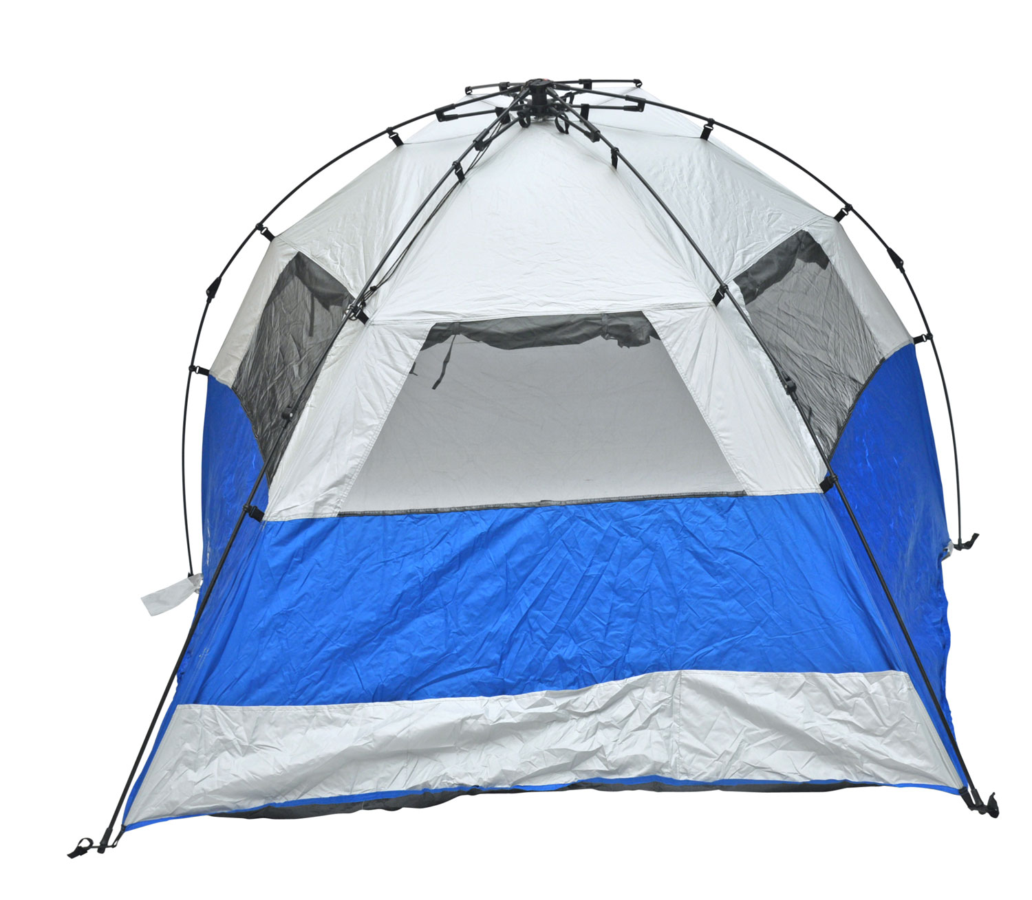 Instant Shelters With Side Walls : Deluxe instant popup beach tent shelter cabana upf