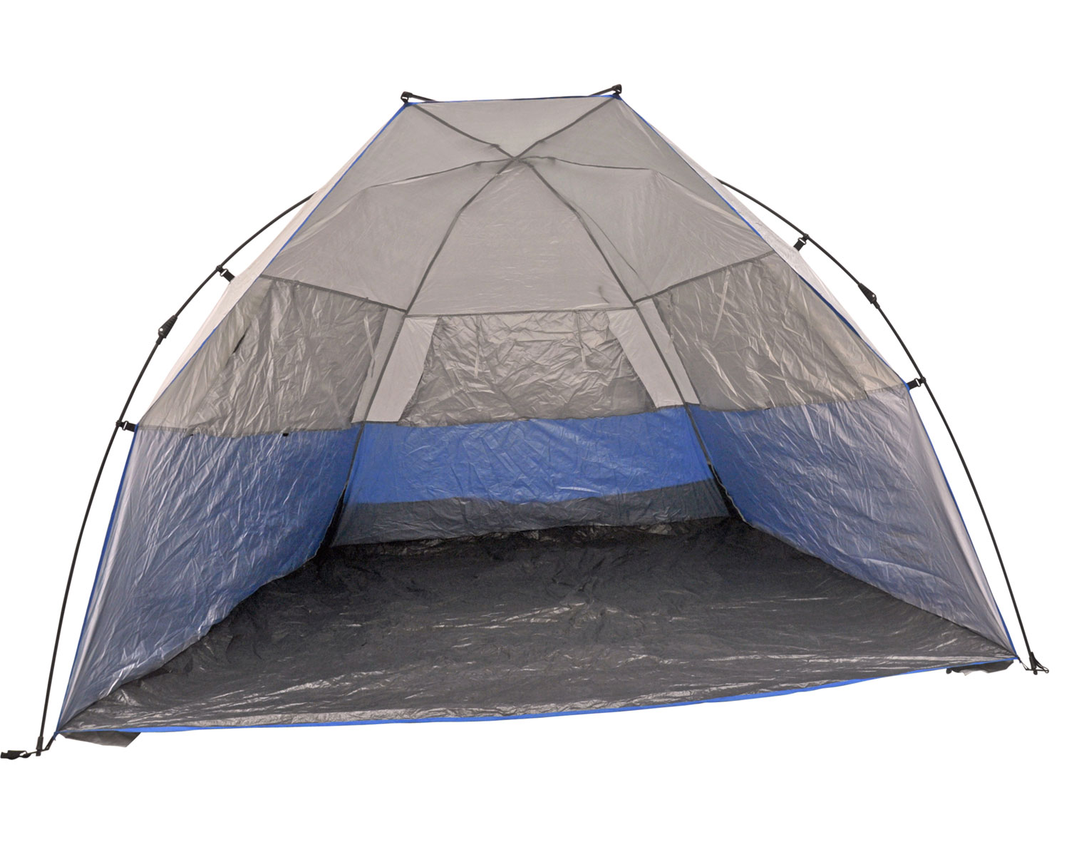 Instant Tent Shelter : Deluxe instant popup beach tent shelter cabana upf