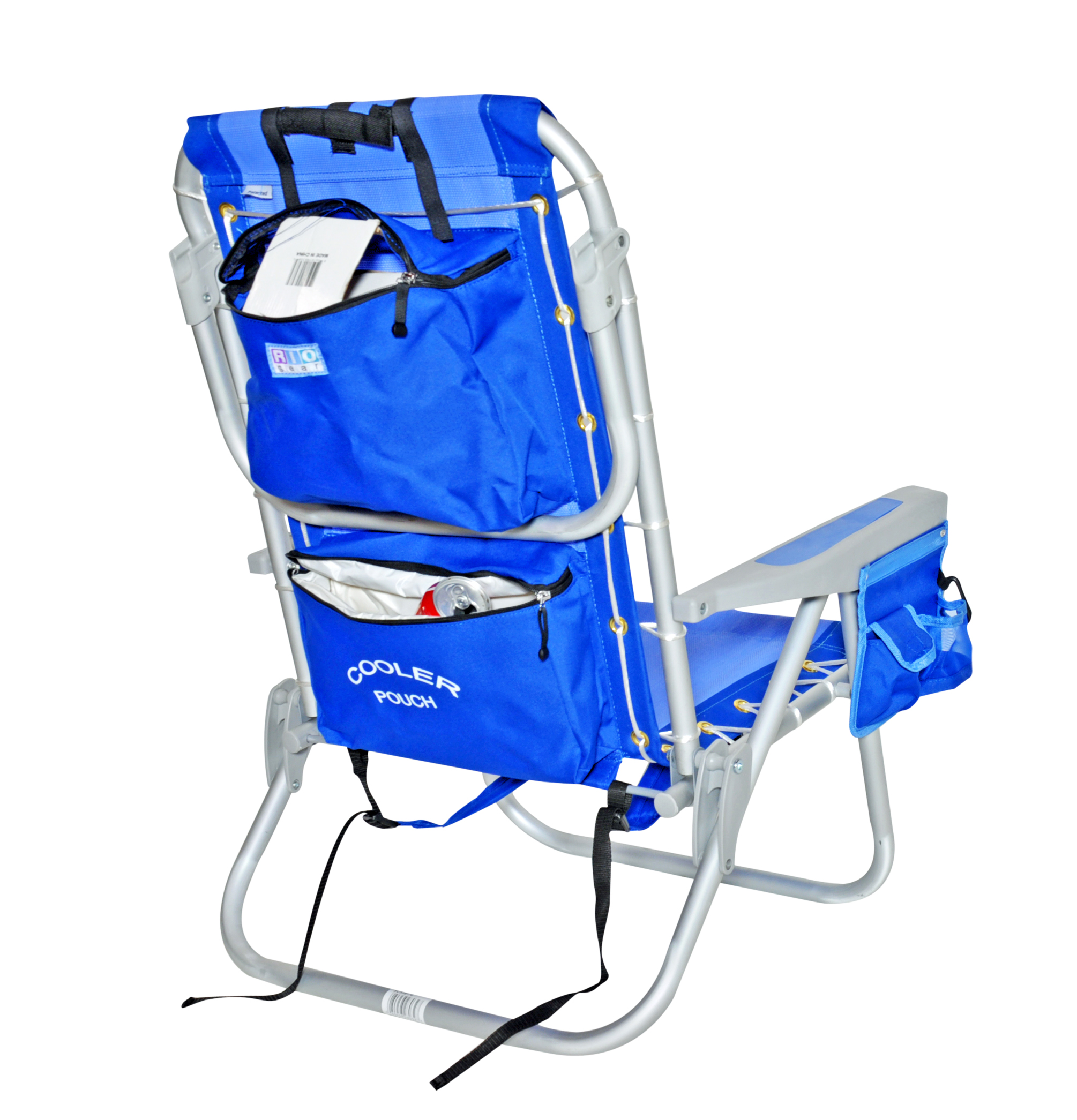Backpack cooler chair - Rio 5 Pos Layflat Ultimate Backpack Beach Chair