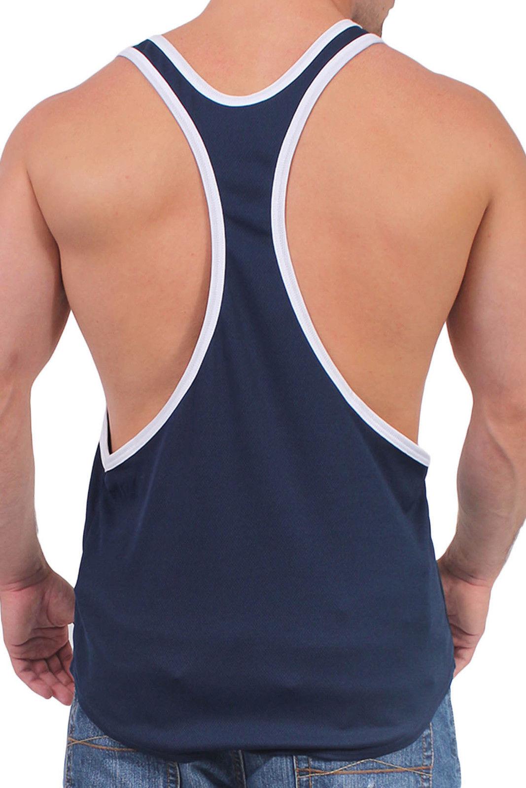Mens Open Side Muscle Shirt