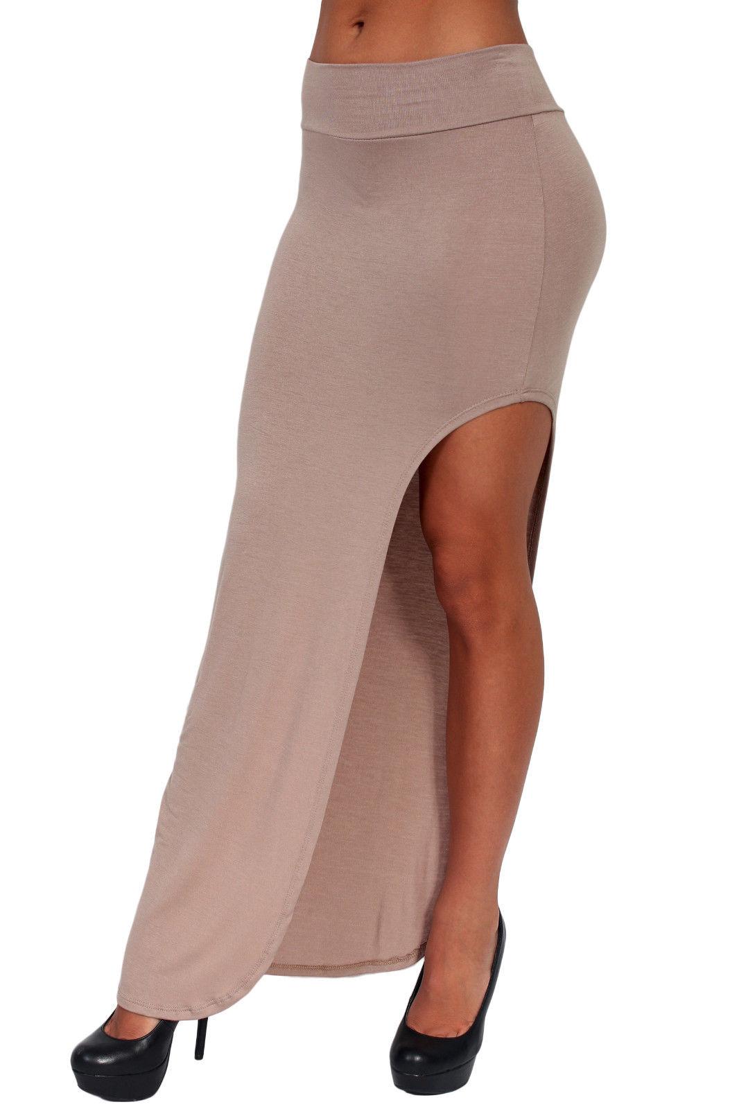 s maxi skirt juniors white length one open