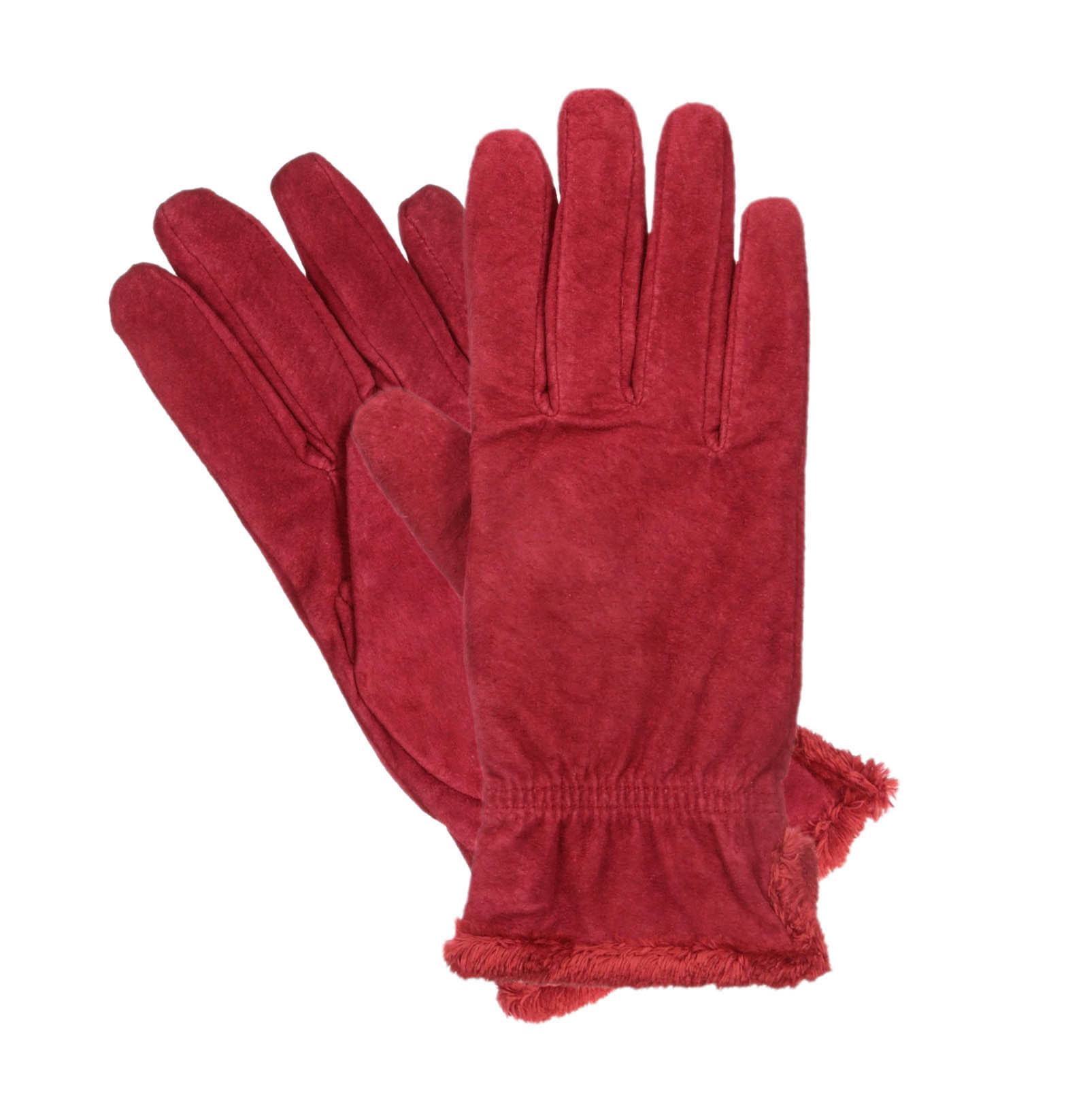 Isotoner womens leather gloves with fleece lining - Isotoner Women 039 S Microluxe Plush Lined Suede