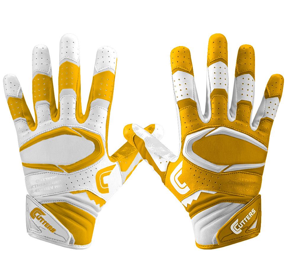 gold receiver gloves