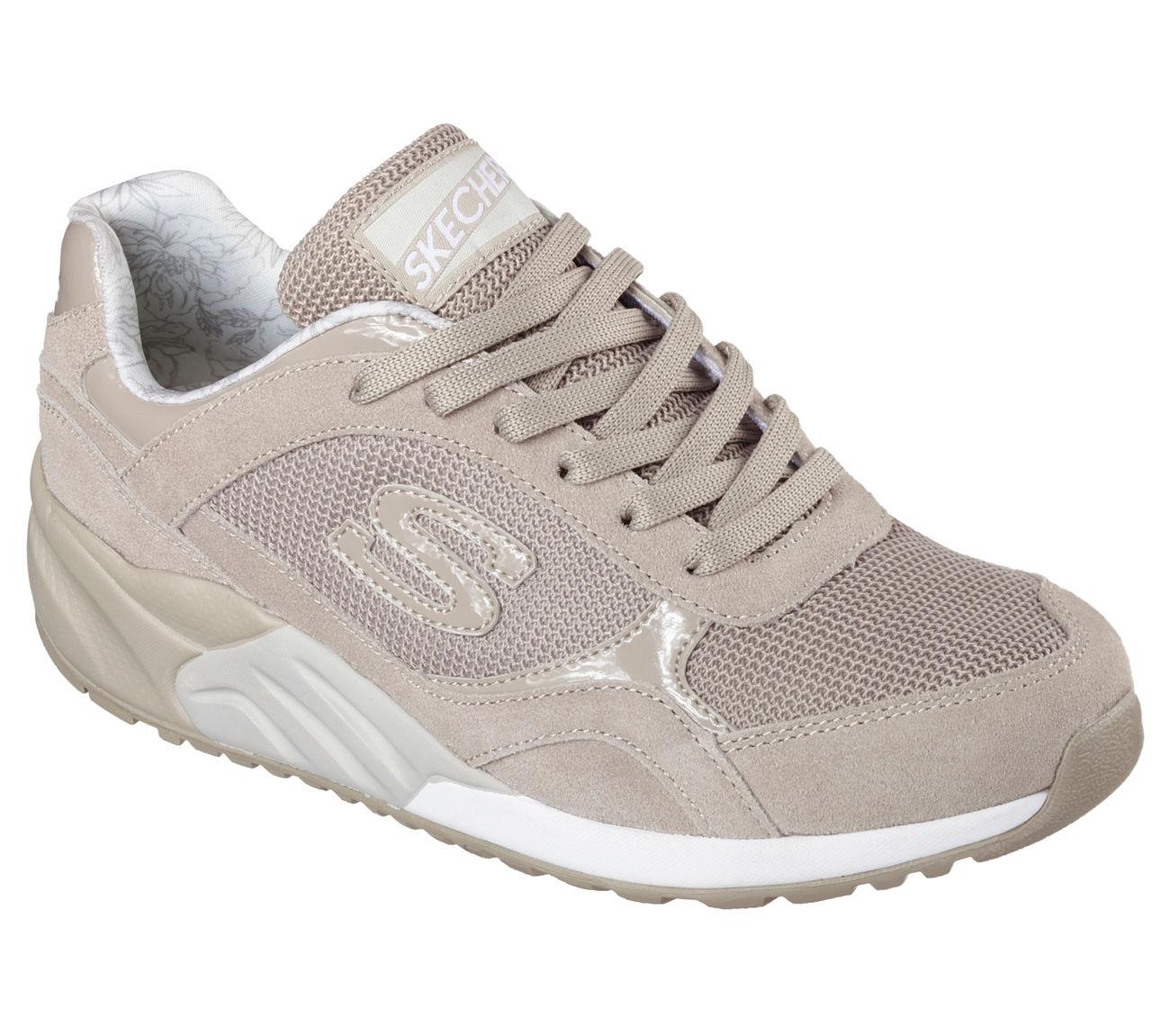 Skechers 611 TPE Women's OG 95 - GREAT HEIGHTS Sneaker Size 8 Taupe NWOT