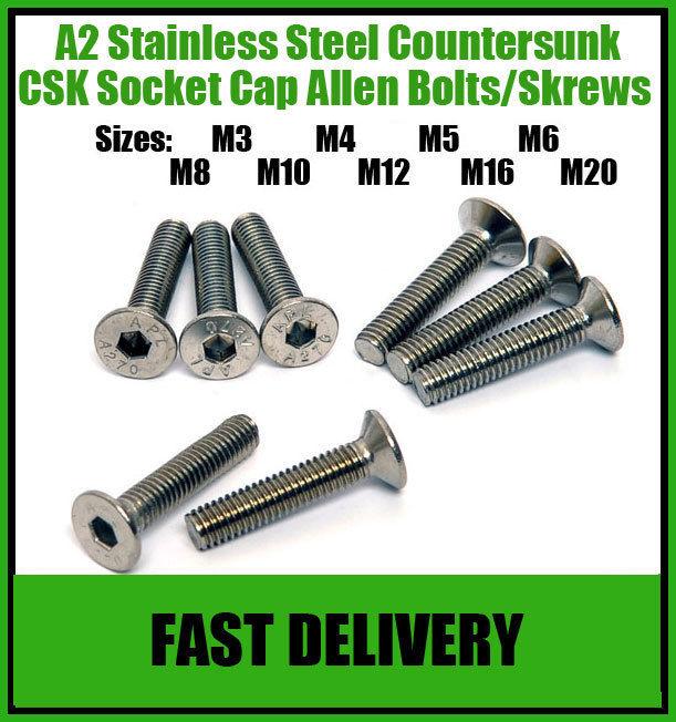A2-Stainless-Steel-Countersunk-Socket-Screws-Allen-Head-Screw-Bolts-M8