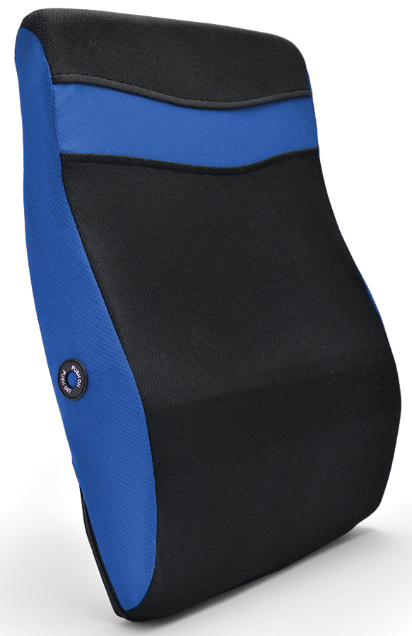 Vibrating Contoured Back Massaging Pillow Therapy Chair