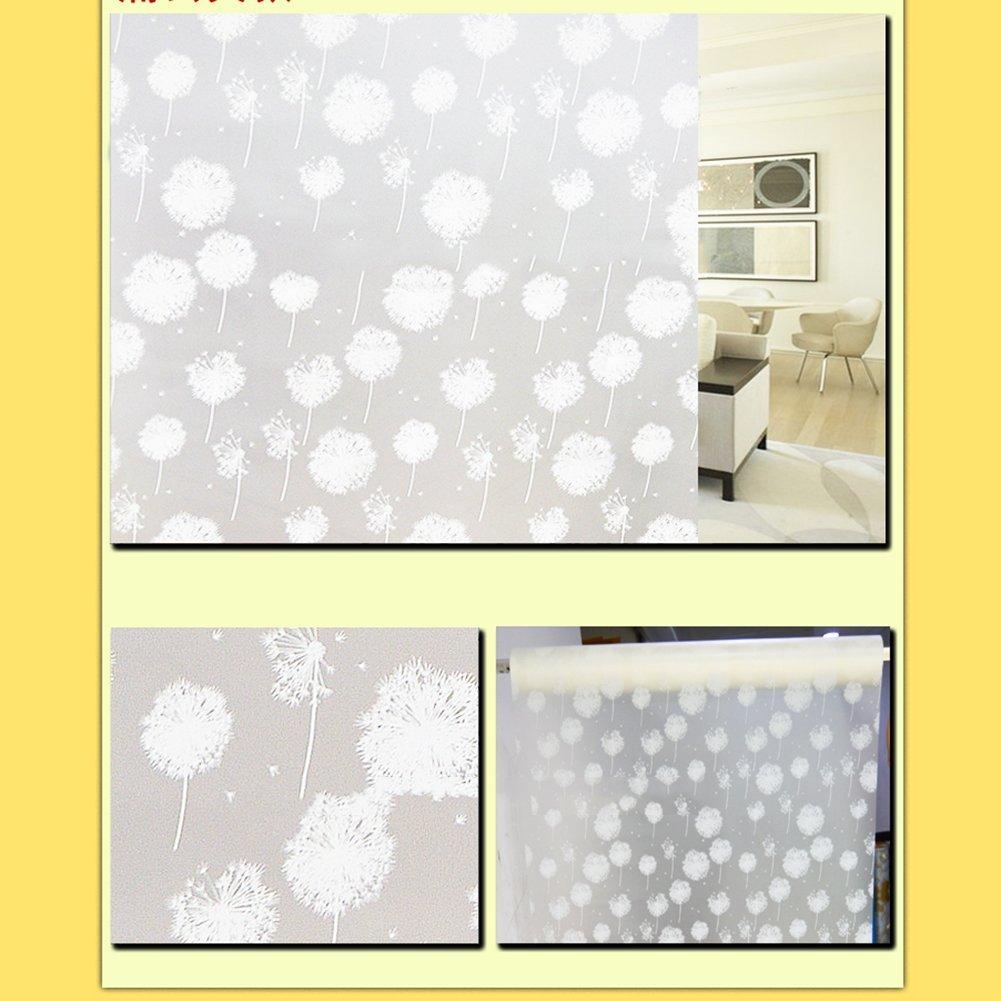 Waterproof Glass Frosted Bathroom Door Window Privacy Self Adhesive Film Sticker Ebay