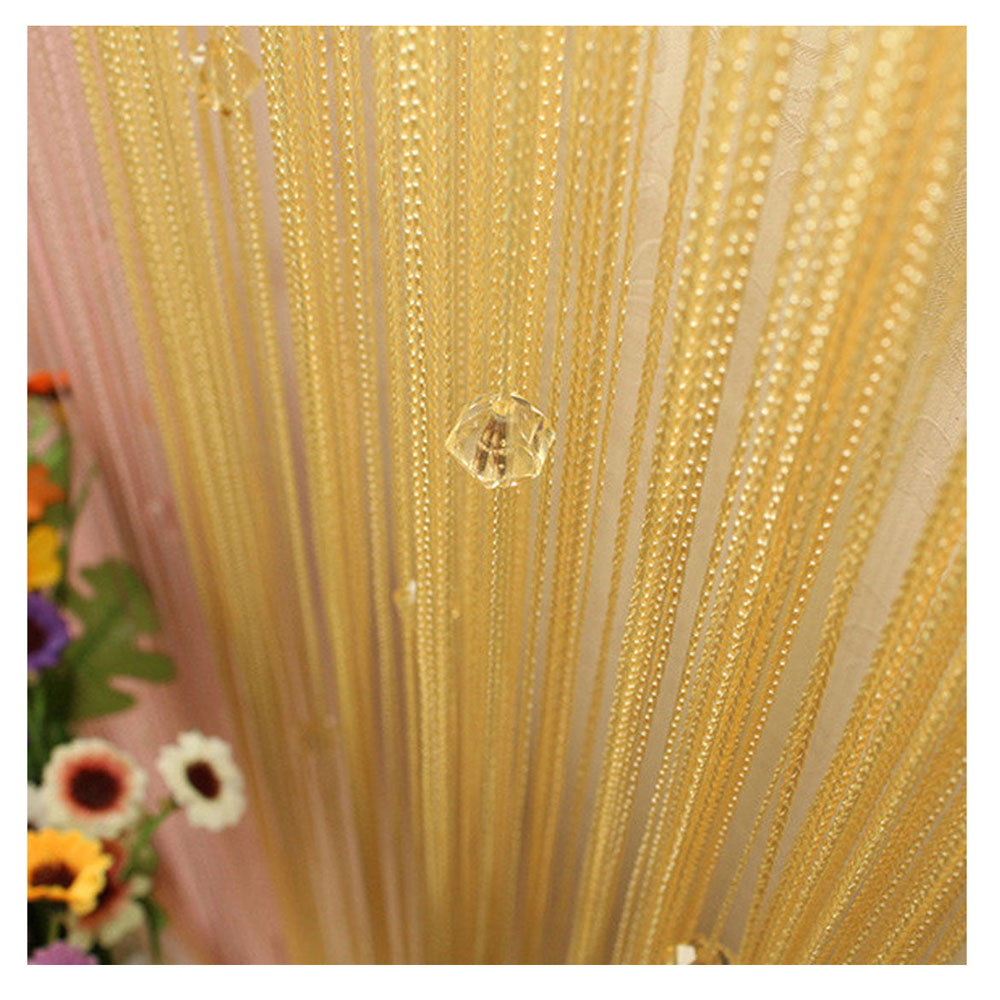 Beaded string curtains 2