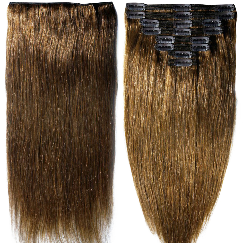 2017 New Double Weft Women S Real Human Hair Extensions