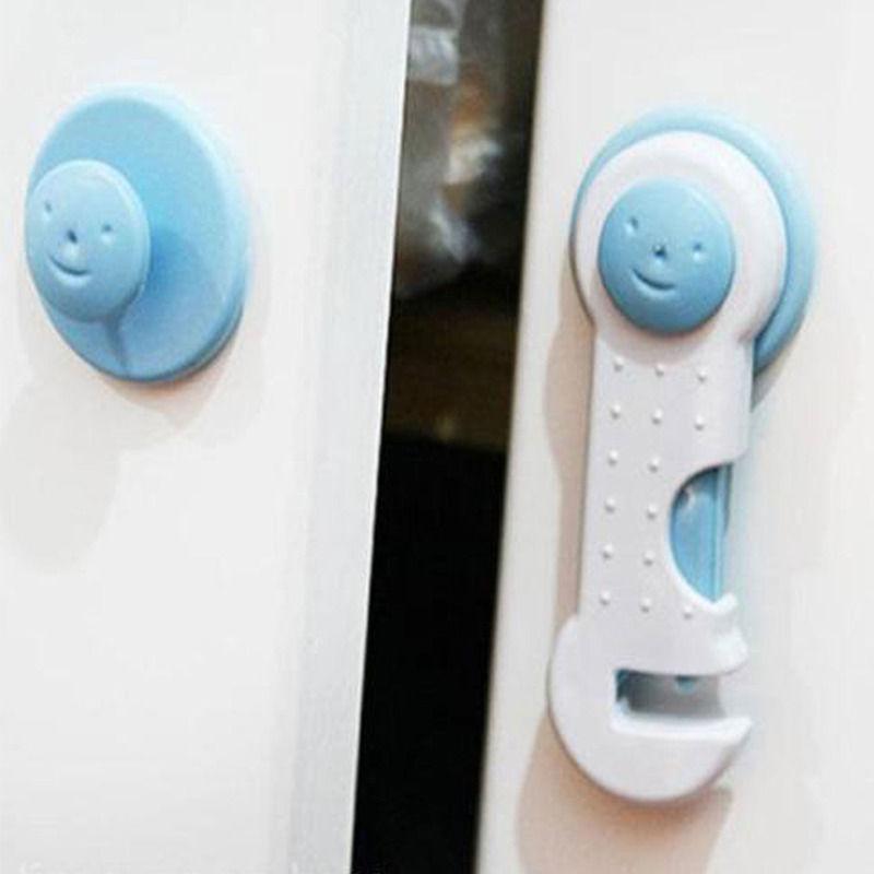 10pcs baby child kids safety lock adhesive cupboard. Black Bedroom Furniture Sets. Home Design Ideas
