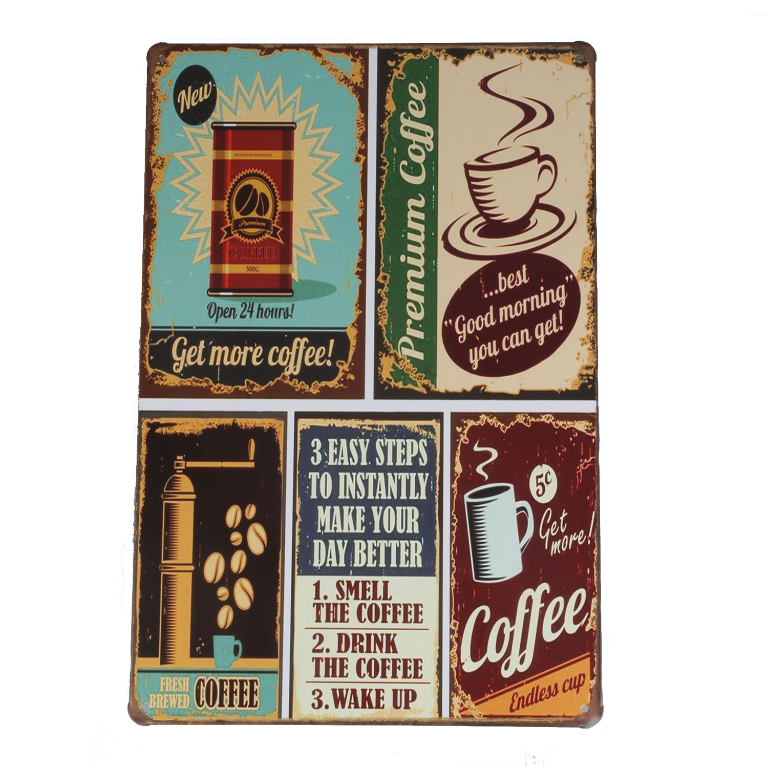 metal tin decoration sign poster plaque bar club cafe wall art deco. Black Bedroom Furniture Sets. Home Design Ideas