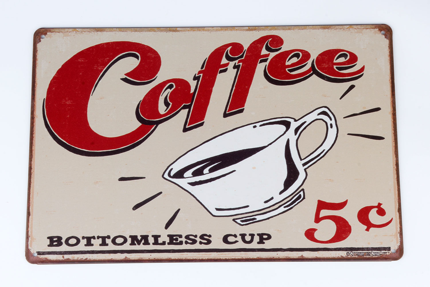 chic tin sign coffee pub poster club decor home vintage plaque decorative us lwj ebay. Black Bedroom Furniture Sets. Home Design Ideas