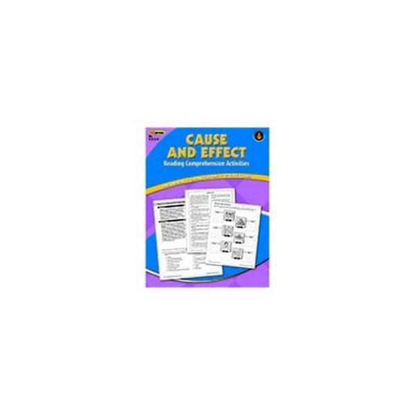 Edupress Ep-2363 Cause Effect Comprehension Book