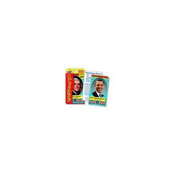 Trend Enterprises Inc. T-23013 Pocket Flash Cards Presidents 56-Pk