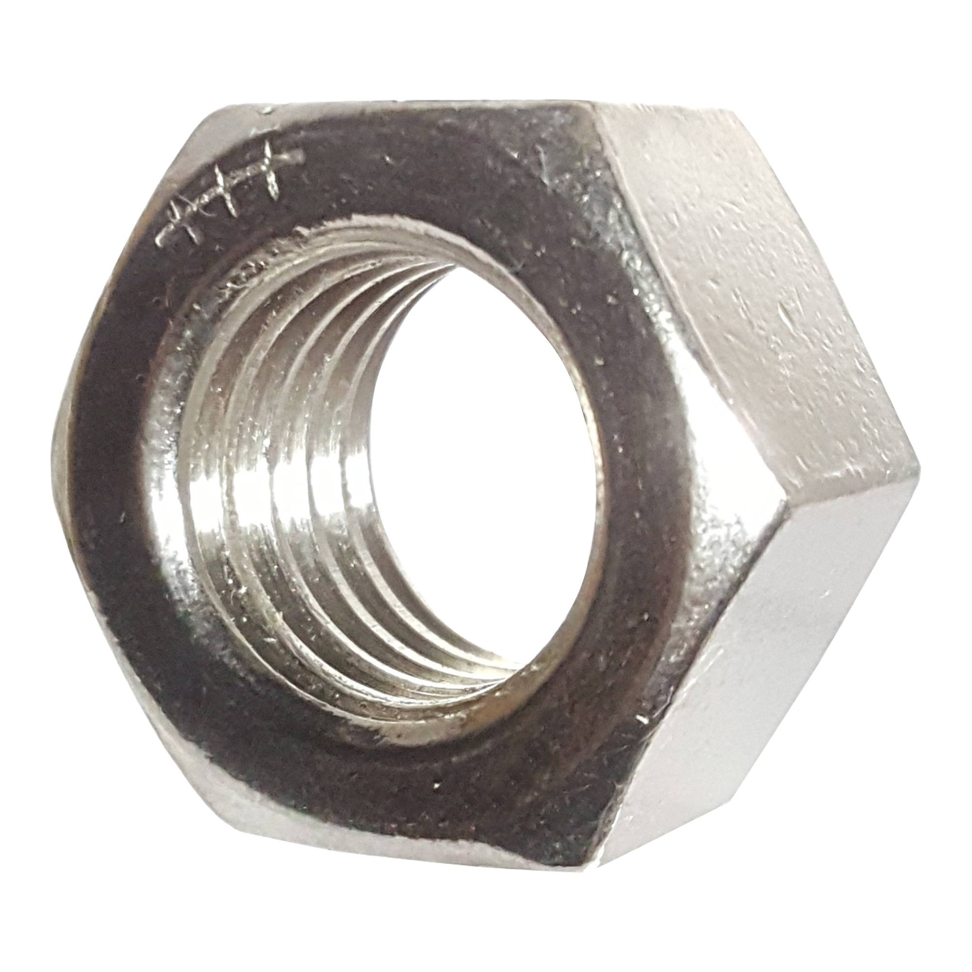 Hex nuts stainless steel full finished all sizes