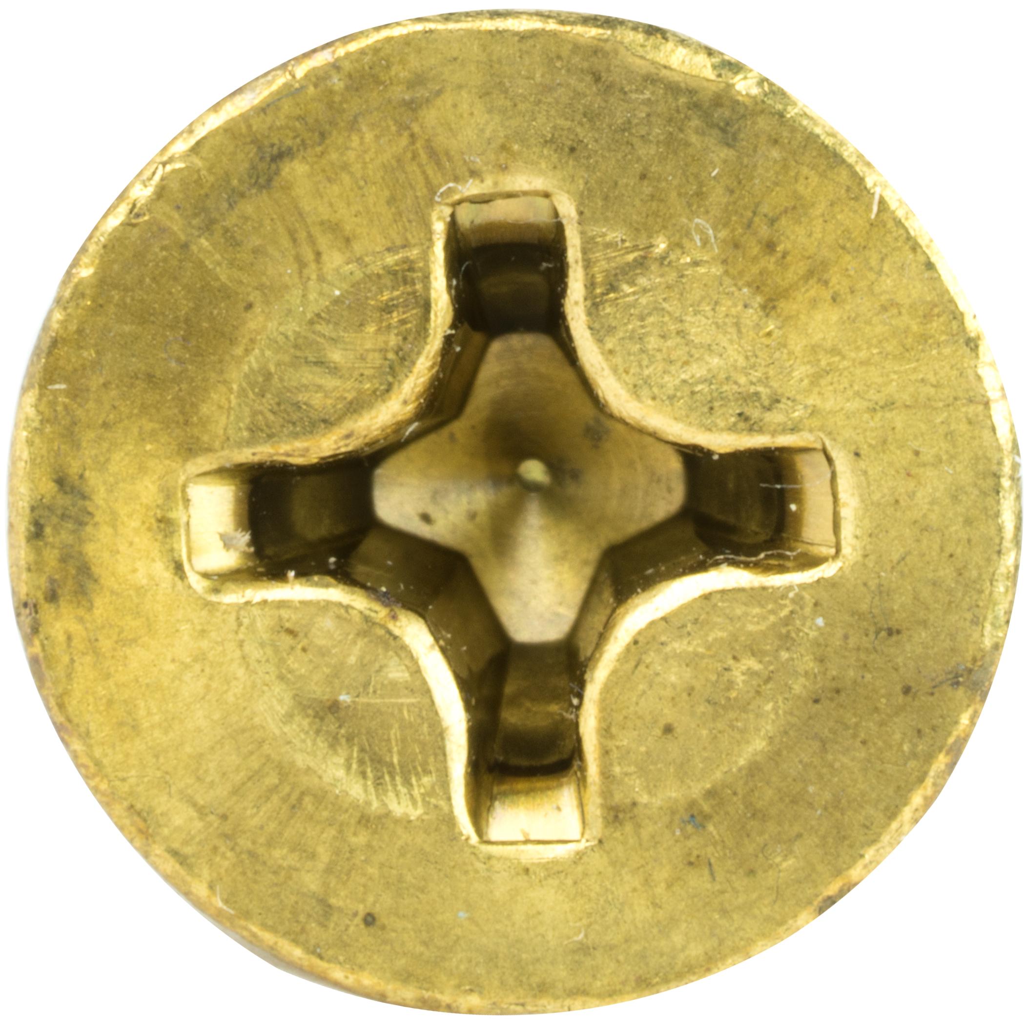 10-24 Flat Head Countersink Machine Screws Solid Brass Phillips Drive All Sizes