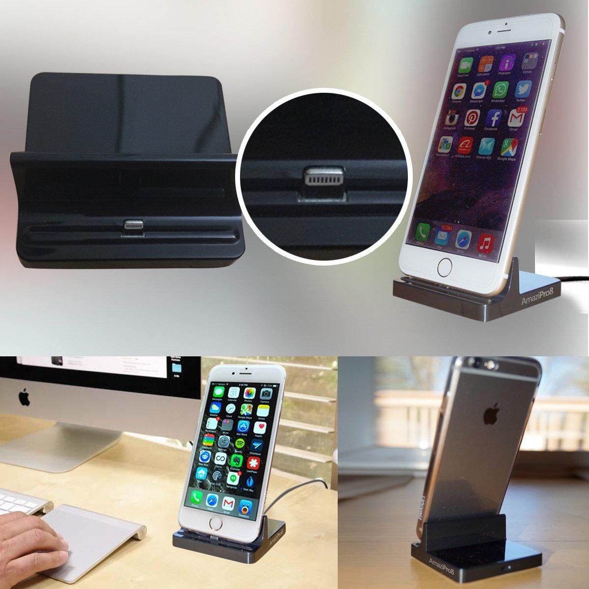 iphone charger docking station lightning dock stations. Black Bedroom Furniture Sets. Home Design Ideas