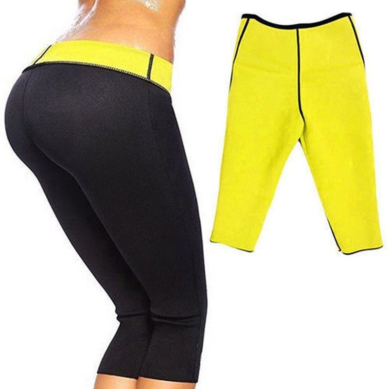 Hot Slimming Shaper Pants Neoprene Wear Shorts Slim Fat ...