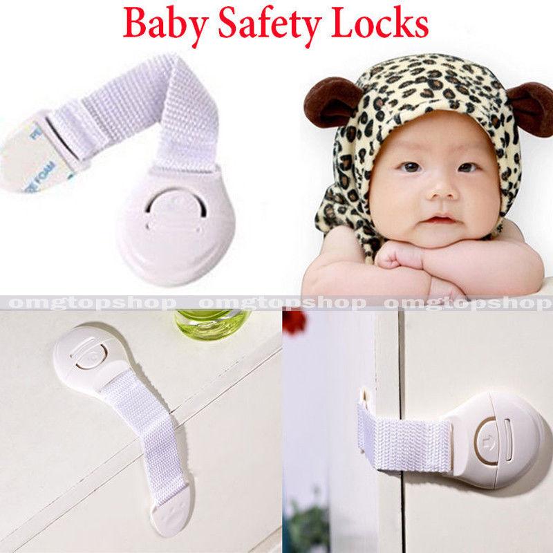 8 10 pcs child infant baby kids drawer door cabinet. Black Bedroom Furniture Sets. Home Design Ideas