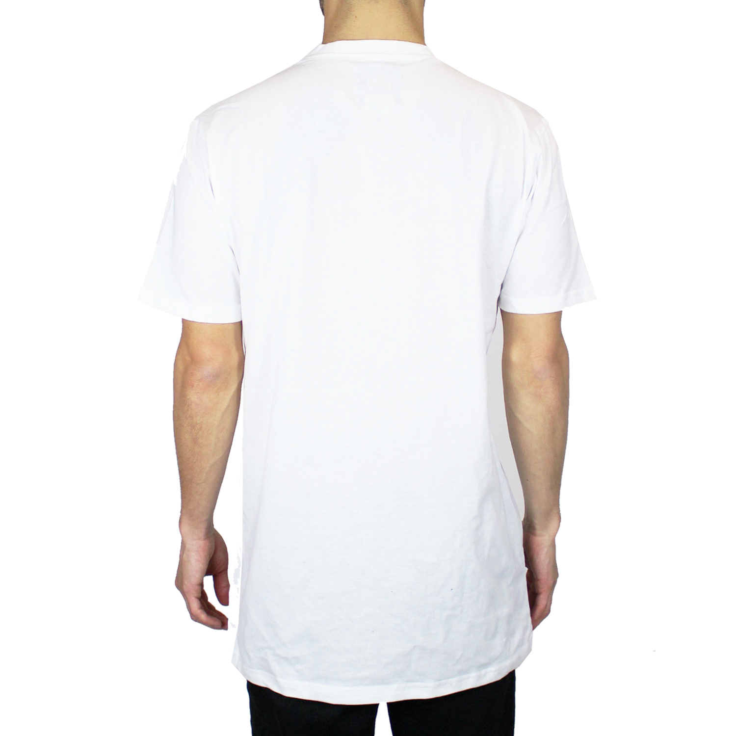 Men 39 s casual jacquard pocket t shirt crew neck short for Crew neck white t shirt