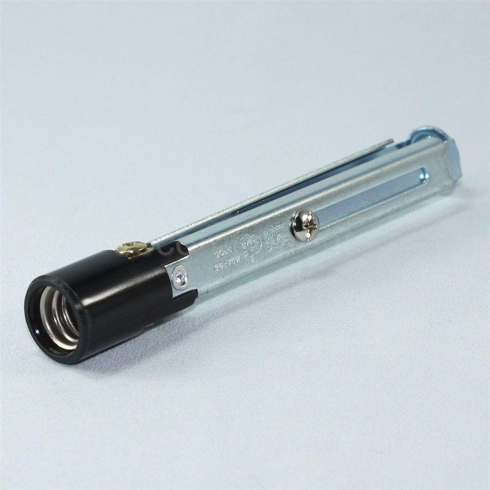 mini light bulb socket lamp holder candle base candelabra 75 w 125 v. Black Bedroom Furniture Sets. Home Design Ideas