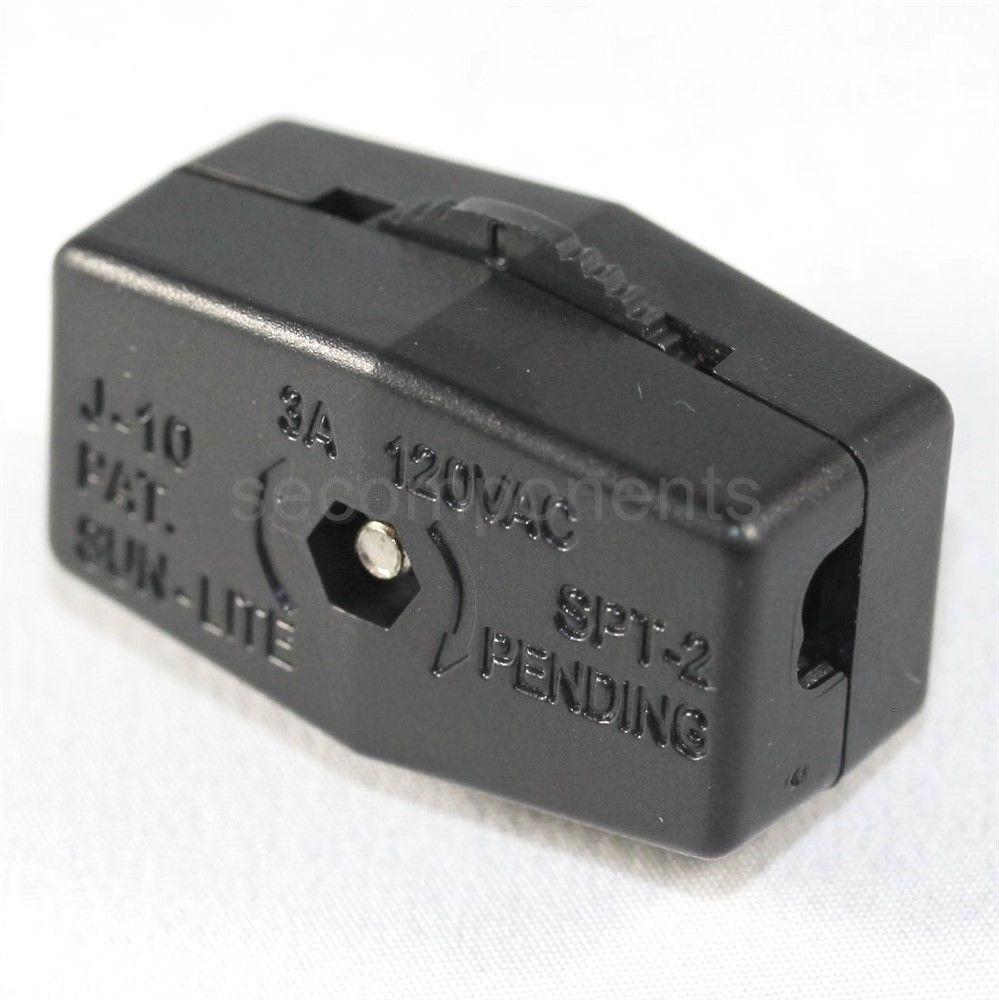Sun Lite J 10 Feed Thru Cord In Line Switch Spt 2 Lamp
