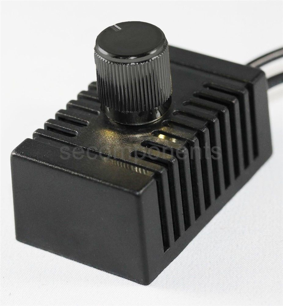 full range rotary dimmer switch for lamp led incandescent 120 v 200 w ebay. Black Bedroom Furniture Sets. Home Design Ideas