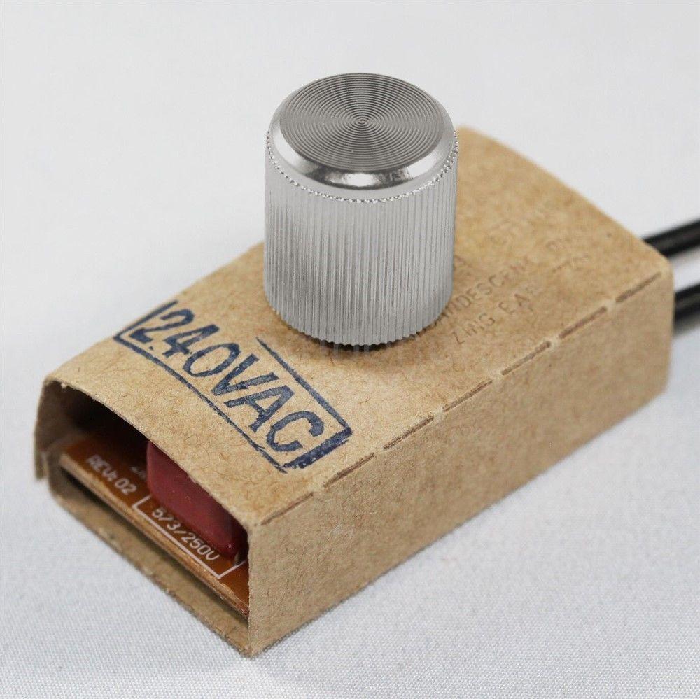 zing ear ze 03 rotary dimmer switch 240 v volt lamp light. Black Bedroom Furniture Sets. Home Design Ideas