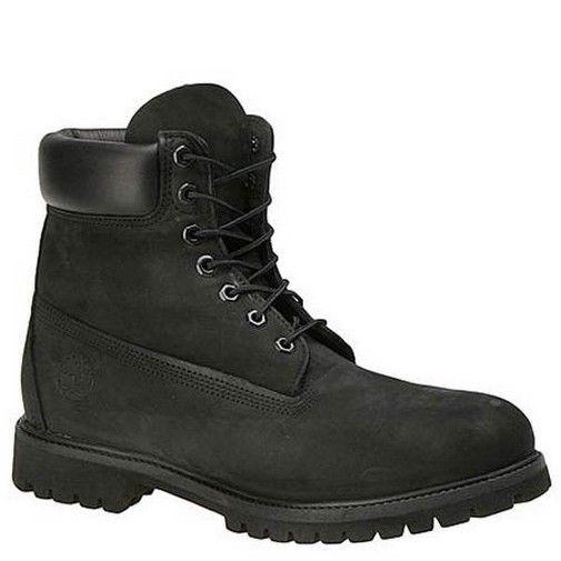 timberland men's 6-inch premium waterproof boots black
