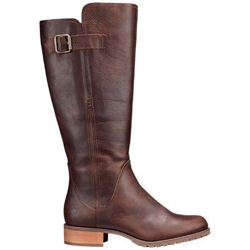 Timberland Women S Banfield Wide Calf Tall Wtrpf Boots